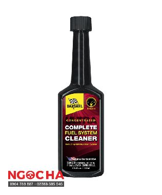 Phụ Gia Chăm Sóc Xe Bardahl Complete Fuel Systems Cleaner 142ml