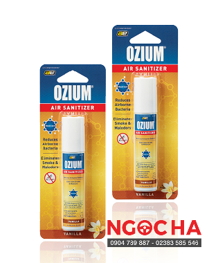 Khử Mùi Ozium Air Sanitizer Spray Vanilla