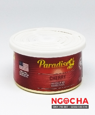 Sáp Thơm Ô Tô Paradise Air Fresh 42g Cherry